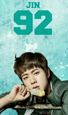 Jin vc é tão lindo