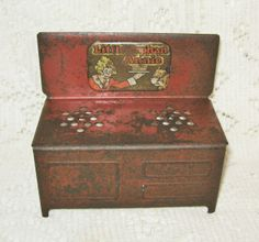 Early Steel Small Size Little Orphan Annie Stove ~ SOLD
