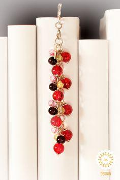 Metall - Lesezeichen ● Tulpenfeld ● Kolibri ♥ - ein Designerstück von SchmettAlinchen bei DaWanda