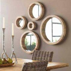 Deko Wandspiegel Wohnzimmer Wohndesign