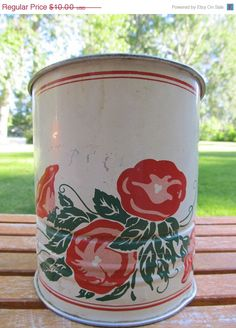 SALE  Vintage Shabby Flour Sifter for Home Decor by TheWeeShelf, $8.00