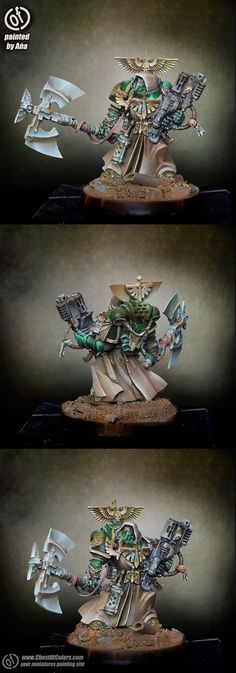 CoolMiniOrNot - Dark Angels space marine by Ana