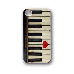 keys love music piano - iPhone 4,4S,5,5S,5C, Case - Samsung Galaxy S3,S4,NOTE,Mini, Cover, Accessories,Gift
