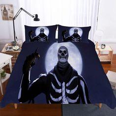 Fortnite Night Theme Digital Print Bedding Multi Size Selection Black Luxury Duvet Covers, Luxury Bedding Sets, Black Bedding, Linen Bedding, Croscill Bedding, 3d Bedding, Modern Bedding, Bed Linens, Bed Covers