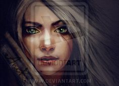 Ciri by ~JustAnoR on deviantART