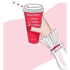 Monday morning Coffee by Heather Stillufsen Coffee Club, Coffee Is Life, I Love Coffee, Coffee Coffee, Skinny Coffee, Coffee Lovers, Coffee Break, Coffee Time, Happy Coffee