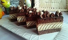 Myslíme si, že by sa vám mohli páčiť tieto piny - sbel Fancy Desserts, Mocca, Good Mood, Tiramisu, Cake Decorating, Recipies, Cheesecake, Sweets, Cupcakes