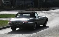 My car...1968 E type Jag convertible - rated the most beautiful car in the world....love it
