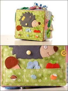 Кубик-развивашка - Игры с детьми - Babyblog.ru