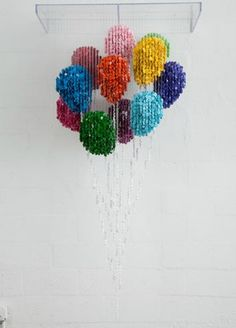 Can you believe this !! It's all made from buttons... By Augusto Esquivel