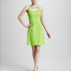 Nanette Lepore Green Apple Dress