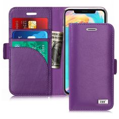 331d4aa4b iPhone X Wallet Case Cell Phone Plans, Cell Phone Wallet, Rfid Blocking  Wallet,