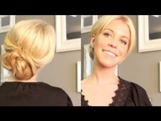 Simple Chic UpDo - YouTube