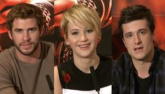 Hunger Games Catching Fire Premiere - Jennifer Lawrence, Liam Hemsworth ... I love them all so much