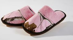 Realtree Pink Camo Girl's Slippers