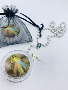 Baptism,first communion 24pcs Funeral Favormemorial favor rosaries giftcelebration of lifesympathy giftmemorial condolence