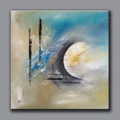 Démonstration peinture abstraite (10) - Abstract acrylic painting - Althea Plus