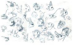 Creature Design - Phoebe Morris Illustration
