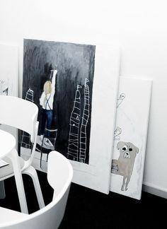 facing north with gracia: Emma Fexeus at Fantastic Frank: the Bloggers Apartment