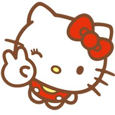 New Hello Kitty stickers are finally here! Use them every day to share with friends and make conversations even more fun!