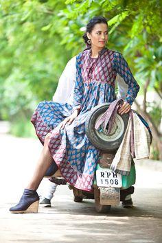 Anokhi dress, from India