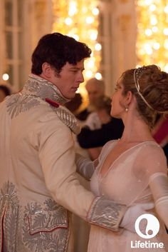 We're so in love with Lily James' lace ballgown in War and Peace. See the final tonight at 9/8c!