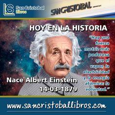 Somos arquitectos de nuestro propio destino. #AlbertEinstein #Einstein #Fisica 15% de Descuento esta semana en Física --> http://ift.tt/2gHc4GL