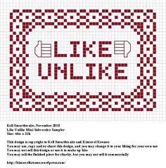 Like cross stitch {facebook}