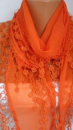 Usando el color naranja
