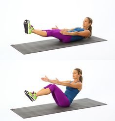 V-Sit move for your abs.