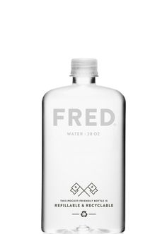 FRED Water refillable & recycled 20oz.