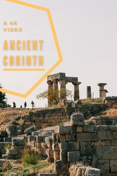 Ancient Corinth is one of the most legendary spots of Greek antiquity. I shot a 4K travel video in Ancient Corinth with the DJI Osmo Pocket. Watch the video and see the Temple of Apollo and the ancient Greek city-state. #travel #Greece #Corinth #Κόρινθος #4K #video #adventure #wanderlust Travel Ads, Solo Travel, Beautiful Places To Visit, Amazing Places, Greek Antiquity, Ancient Greek City, Dji Osmo, Travel Videos, City State