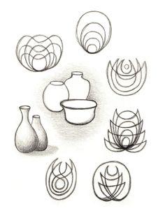 Waldorf ~ 5th grade ~ Freehand Drawing ~ Geometry. Kan ook als metamorfose in klas 3....