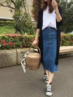 69f3a26e531 Skirt denim outfit casual shirts 35 ideas for 2019
