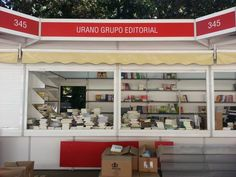 ¡Todo a punto para la Feria del Libro de Madrid! Nos encontraréis en la caseta 345. ¡Os esperamos! Madrid, Loft, Bed, Furniture, Home Decor, Lofts, Home Furnishings, Interior Design, Home Interiors