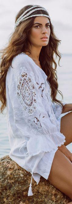 405a0f1bdfe Anjuna Emily Kaftan Hippie Crochet