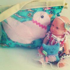 Enxoval completo pra bonecas! by Heloisa Salti