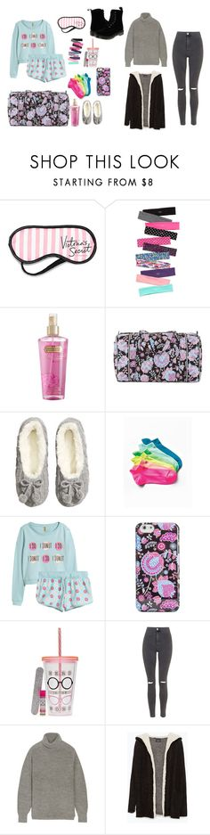 """Pajamas Party - Befor and After"" by ina-stylee on Polyvore featuring Victoria's Secret, Vera Bradley, H&M, Simple Pleasures, Topshop, Étoile Isabel Marant, Zara and Dr. Martens"