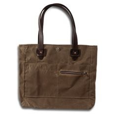 """I've used this tote from Tanner Goods as my everyday bag for the better part of a year now, and I really do use it for everything. It's my work bag, to haul my laptop, lunch and post-work clothes, my grocery bag, and my carry-on for air travel. The occasional """"nice purse"""" comment aside, I find the simple lines to be anything but emasculating, and with damn nice waxed canvas and leather, it's built to last."""