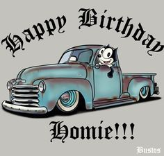 Grandson Birthday Wishes, Funny Happy Birthday Wishes, Ride Drawing, Birthday Coloring Pages, Lowrider Art, Looney Tunes Characters, Cartoon Monsters, Felix The Cats, Truck Art