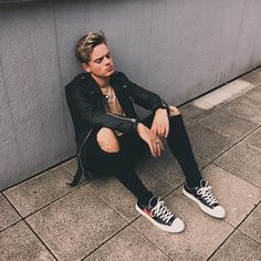Not sure why I look upset... But OOTD ~ Jack Maynard