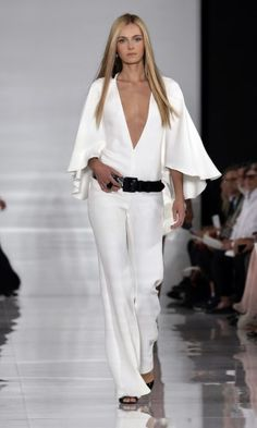 Ralph Lauren, 2014 Spring/Summer, 2013 New York Fashion Week.