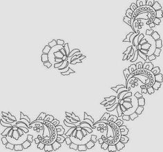 CREA Y BORDA: Patrones para bordar manteles