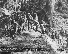 Bougainville USMC Photo No. 1-6  From the Frederick R. Findtner Collection (COLL/3890), Marine Corps Archives & Special Collections   OFFICIAL USMC PHOTOGRAPH