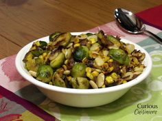 Brussels Sprout Succotash Recipe on Yummly