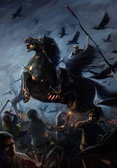 Reaper on Demon Horse