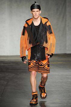 KTZ Spring 2015 Menswear Fashion Show
