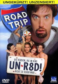 Road Trip  2000 USA      Jetzt bei Amazon Kaufen Jetzt als Blu-ray oder DVD bei Amazon.de bestellen  IMDB Rating 6,4 (83.482)  Darsteller: Breckin Meyer, Seann William Scott, Amy Smart, Paulo Costanzo, DJ Qualls,  Genre: Adventure, Comedy,  FSK: 12