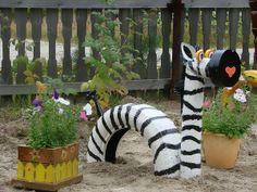 Zebra-Tire