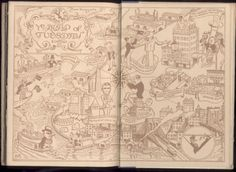 Dutch Treat Club 1926. Amazing collection of endpapers hosted on Drawger by Stephen Kroninger!
